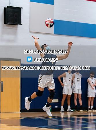 5/12/2021 - Boys Varsity Volleyball - Newton North vs Needham