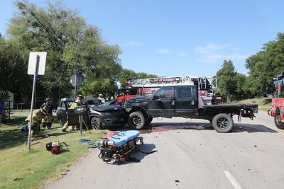 McKinney TX. Major MVA N. McDonald St. 7/7/20