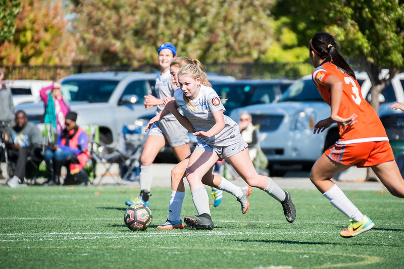 11/04/17 - Pleasanton Rage @ San Juan ECNL (03 Girls U15)