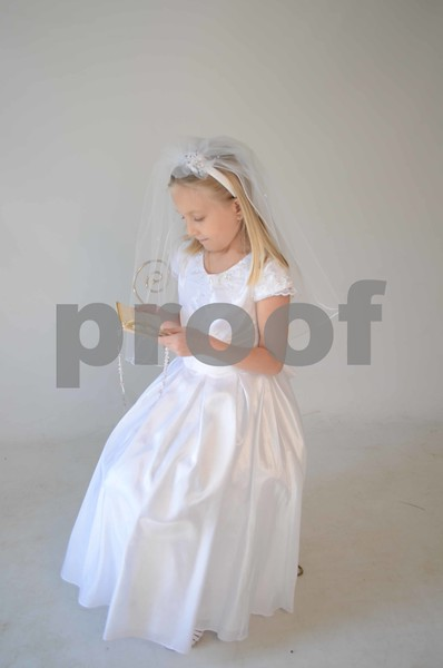Amanda's Communion Pics.