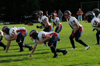 2010 Orono JV Football vs. Delano