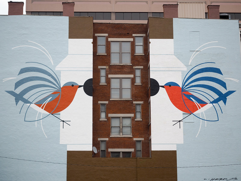 Mural in Cincinnati, Ohio
