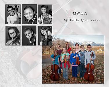 Millville Orchestra kids