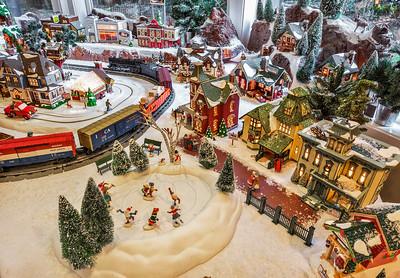 CJ[s Christmas Village