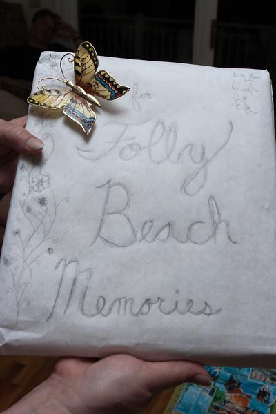 Folly Beach memory photo book.