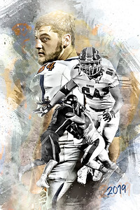 2019 Brett Suter Football Print