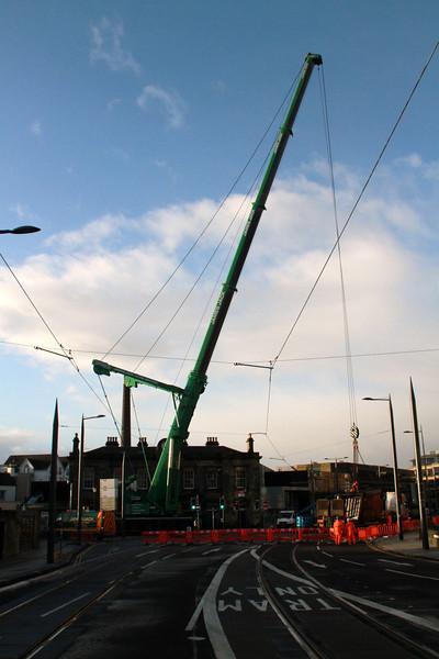 Haymarket Footbridge Removal