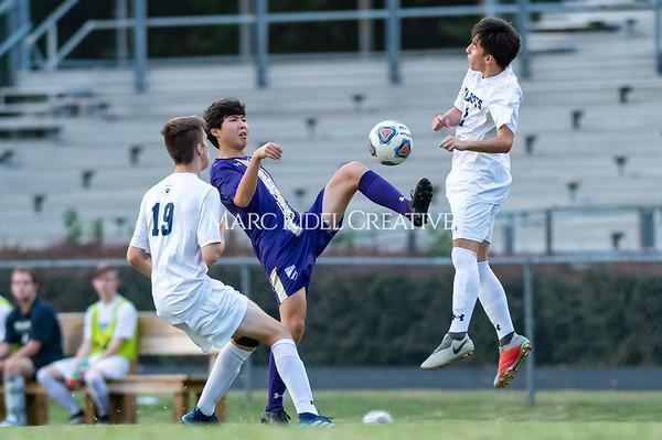 Broughton soccer vs Millbrook. October 7, 2019. D4S_6061