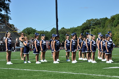 2014-09-07 - Franklin Chargers Cheer D - Taunton