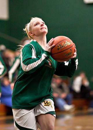 Coughlin at Wyoming Area Varsity Girls 01/17/11
