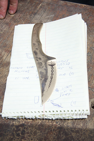 Forging a Bronze Knife with David Delegardelle