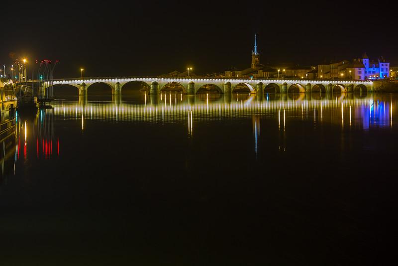 Bridge on the Saone