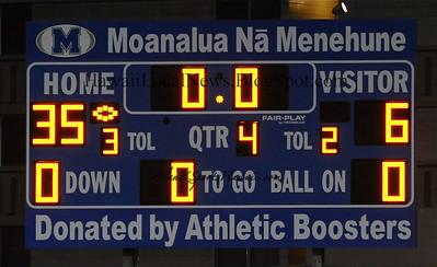 """09-30-11 Moanalua JV """"vs"""" Roosevelt (35-6)"""
