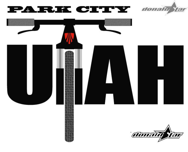 Park City Utah Ride Logo by donaldstar