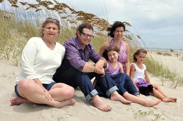 Oak Island NC Beach Family Photos July 21