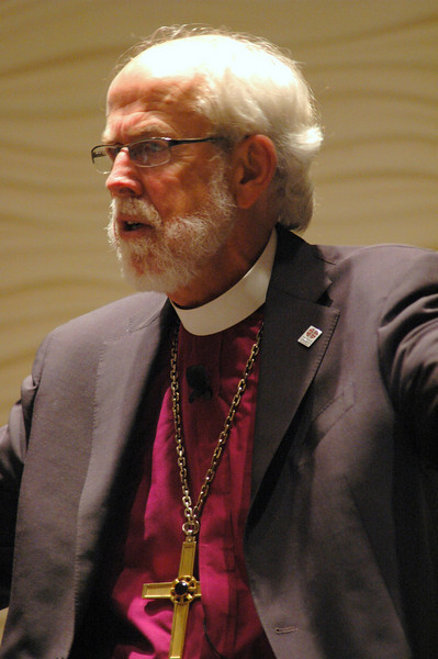 Presiding Bishop Mark S. Hanson during plenary session one