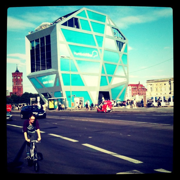 Humboldt Box. Views around #Berlin by bike.