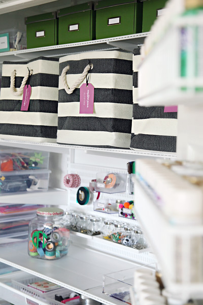 Ultimate Craft Closet Organization