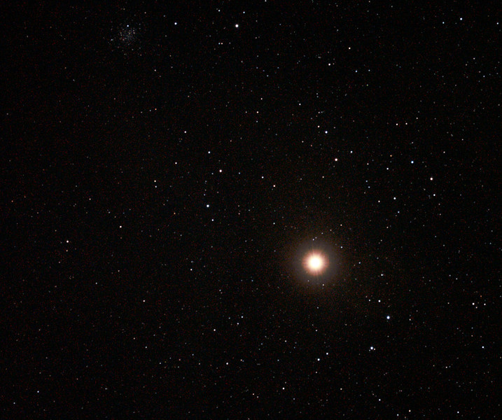Antares (also NGC6144 Globular Cluster) - 30/3/2011 (Cropped re-processed stack)
