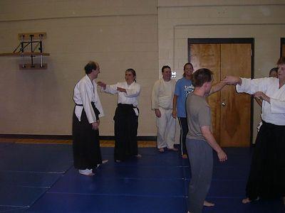 Aikido Class Oct. 30