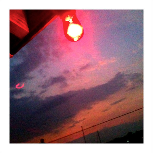 Red Light At Sunset
