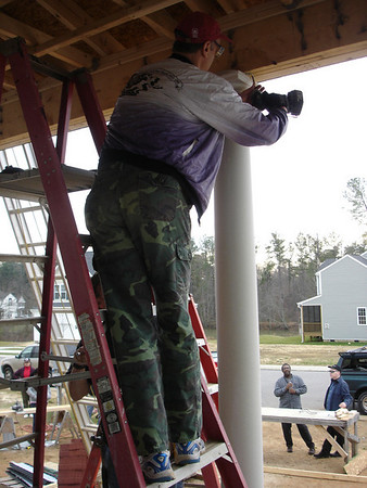 Habitat for Humanity house build - 12/20/08
