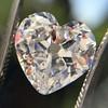 3.47ct Antique Heart Shaped Diamond GIA F SI2 17