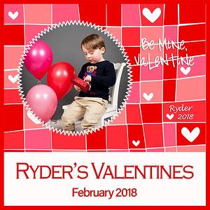 Ryder's 2018 Valentines