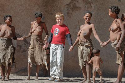 Bei den Buschmännern im Erongogebirge