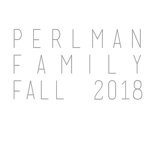 Perlman Family Fall 2018