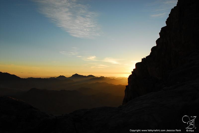 Sunrise on Mt Sinai (2)