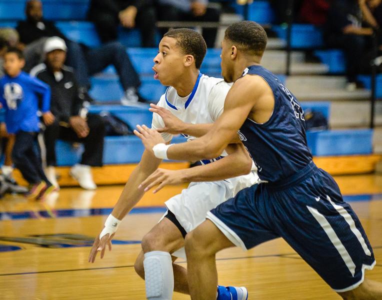 Basketball Boys Varsity vs  Lamar 01-21-14-5