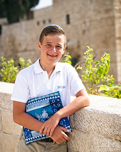 Bar Mitzvah at the Kotel