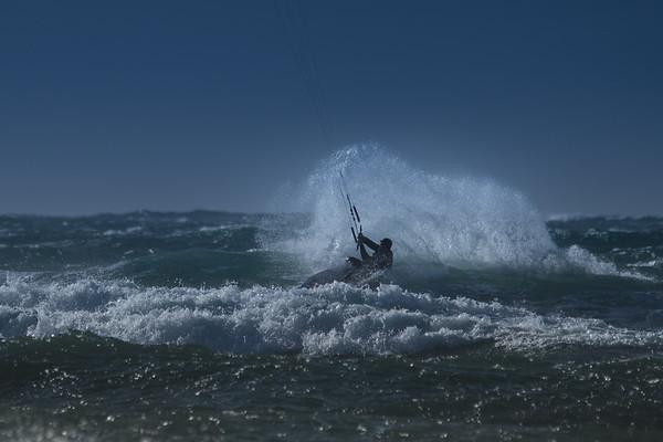 Kitesurfing, Dillon Beach, CA