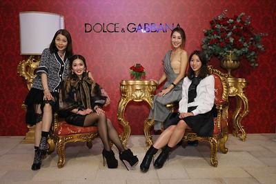 Dolce & Gabbana Macau VIP Event - 27-28 Sep 2019