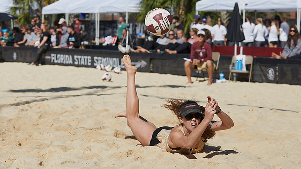 2020 FSU Beach Volleyball v Cal Poly