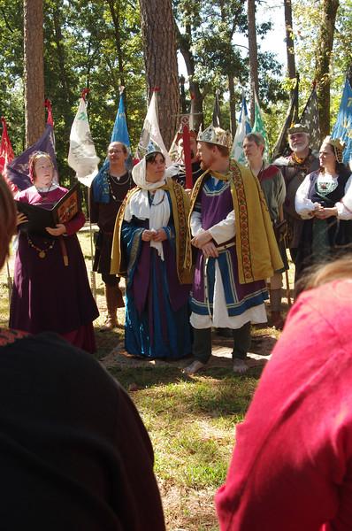 Coronation of King Caillin