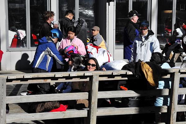 Skiing X'mas 08