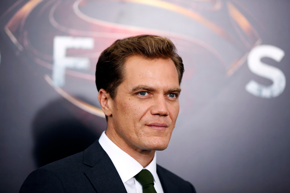 """. Cast member Michael Shannon arrives for the world premiere of the film \""""Man of Steel\"""" in New York June 10, 2013. REUTERS/Lucas Jackson"""