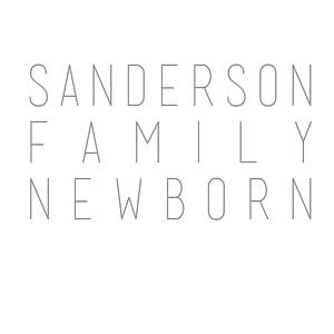 Sanderson Family Newborn