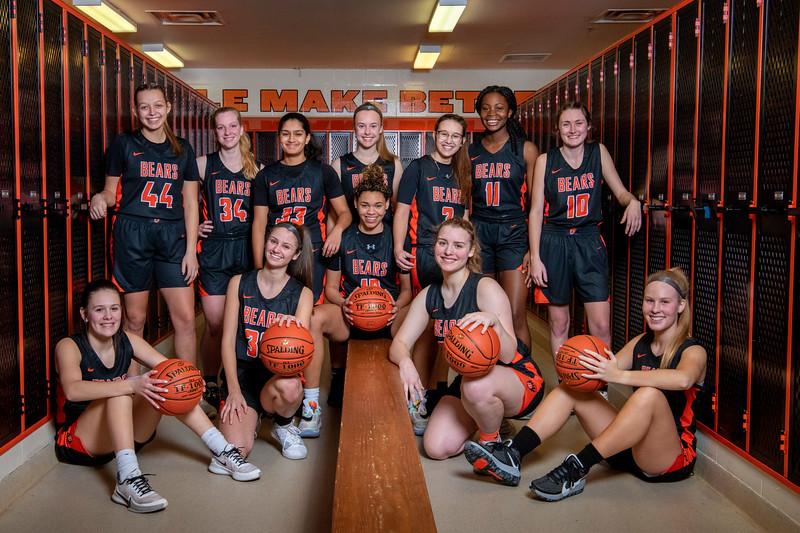 White Bear Lake Girls  Basketball 2021
