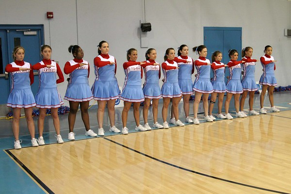 6th District Cheerleaders, Dance, Step, Fans (Friday)
