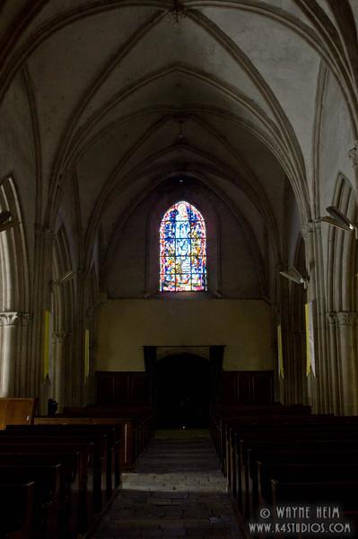 Sainte-Mere-Eglise Church 4  Photography by Wayne Heim