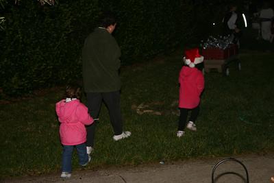 Caroling December 2004