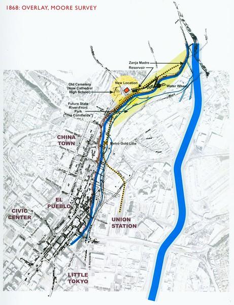 1868, Moore Survey Overlay