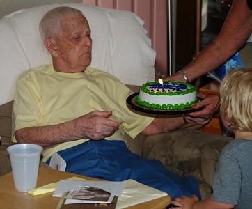 Grandpa Bible 93 Birthday August 8, 2010