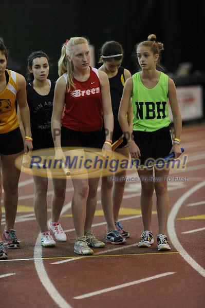 Girl's DMR - 2012 MITS Finals