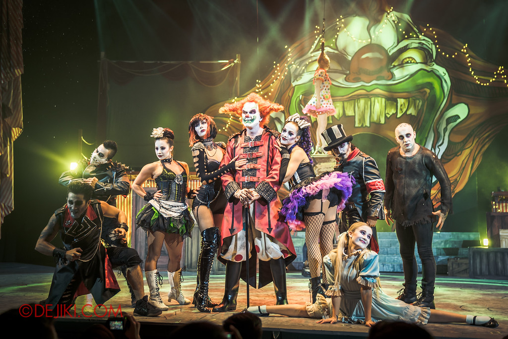 Halloween Horror Nights 6 - Jack's Recurring Nightmare Circus / Jack and the Maniacs green