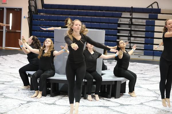 Corinth Holders High School Varsity Winter Guard