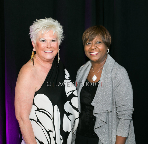 Photo Credit: Jacek Photo. Caption: L-R: Roe Green and Verdenia Baker at The Cultural Council of Palm Beach County 2014 Muse Awards at The Kravis Center in West Palm Beach, Fla. on March 13, 2014.